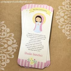 First Communion Cards • First Holy Communion • Primera Comunion