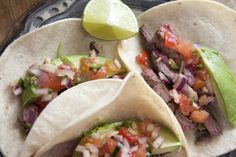 Carne asada is thinly sliced, grilled flap steak or skirt steak served often in tacos, burritos, or in quesadillas. Carne asada can be purchased from a carniceria (meat market) either prepared (already marinated) or not and can be marinated at home. To be completely honest I usually go the easy route and go to a …