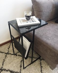 Home Decor Inspiration, New Homes, Diy, House, Furniture, Decoration, Instagram, Black Marble, Iron Table