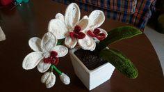 Free Crochet Pattern Orchidee : Composizione di orchidee alluncinetto - www.nonsolofiori ...