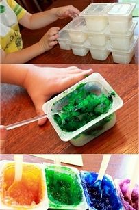 """Edible finger paints! This would be perfect since I know any """"paint"""" would go straight to Ollie's mouth!"""