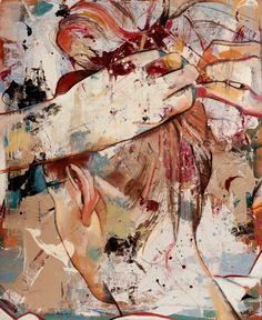 "Artist: Mihail -Miho- Korubin ; Oil, 2012, Painting ""Serenity"" #art #Figurative #paintings #figures #faces #portraits #hands #korubin #mihail #oil #canvas"