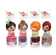 $ 4,99 1pc 7 ml Doll Projeto polonês Eco-friendly do prego doce bonito Color Art Verniz polonês 12 Colors - BornPrettyStore.com
