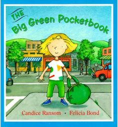 On her day in town with her mother, a little girl starts off with an empty big green pocketbook--just like her mother's--and along the way collects pieces of her day to put inside, inventing stories for each treasure. Color illustrations. Trophy edition.