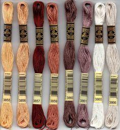DMC embroidery floss - 3800 series – Raspberry Lane Crafts