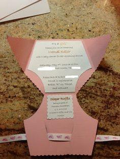 Wilker Do's: DIY Diaper Baby Shower Invites
