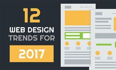 How modern is your business website? Are you keeping up with the latest web design trends? We look at the web design trends for 2017 in this infographic.