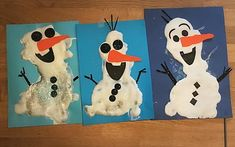 Olaf puffy paint Puffy Paint, 20 Min, Olaf, Snowman, Disney Characters, Fictional Characters, Painting, Art, Book