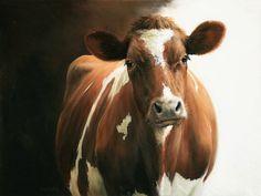 Sold | Sister of Noortje, oil/panel 12 x 16 inch (30 x 40 cm) © 2010 Klimas