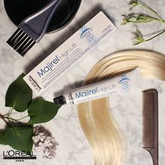 """Summer's approaching so it's time to make that blonde even blonder! @jasonbacke, Master Colorist says """"With High Lift, I can create beautiful soft dimension or bold, dramatic statements."""" So what are you waiting for? #GoSeeYourStylist #UnbreakableBlond"""