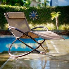 Lean back and sink into relaxation with this orbital lounger, featuring an ergonomic design for maximum comfort. With a unique back support and relaxing zero-gravity design, you'll find the time slip away in your outdoor space.