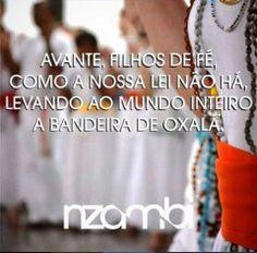 A umbanda é paz e amor