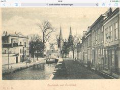 Delft, Oosteinde met Oostpoort