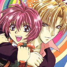 Gravitation, the first shounen-ai anime I watched. Didn't even know what I was watching until my brain finally caught up with my eyes. Quite a good watch I guess, the music always bring back memories of the anime.
