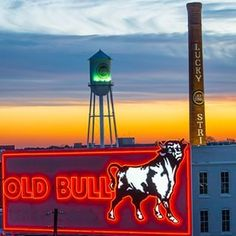 The Bull City is the southern funk town of your dreams. | 34 Amazing Things That Will Make You Fall In Love With Durham N.C