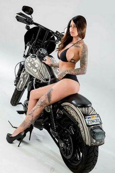 Super Bikes & Hot Girls 2019 Compilation - Stunts, Wheelie and Burnout Biker Chick, Biker Girl, Hot Girls, Motorbike Girl, Girl Bike, Motorcycle Girls, Hell Girl, Poses, Bikini Girls