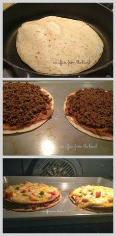 Copy Cat Taco Bell Mexican Pizza