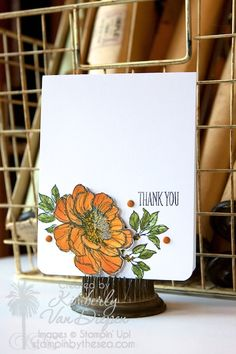 Be Inspired with Blendabilities! - StampinByTheSea.com Blendabilities Markers, Stampin' Up!  Bloom with Hope stamp set Kimberly Van Diepen