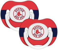 Boston Red Sox Baby Pacifier