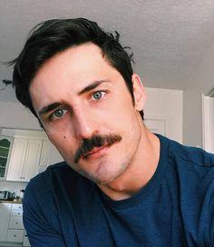 """hairygingerman: """" gorgeous 'stached man @mtdubbs374 """""""