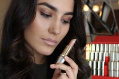 They celebrate Color Riche's 30 anniversary and the Loreal Paris, Your Lips, My Beauty, Best Makeup Products, Lipstick, Celebrities, Color, Sleepless Nights, Lipsticks