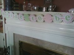 Bride to Be banner by ALittleLollipopTree on Etsy, $20.00
