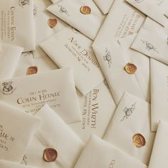 Harry Potter Yule ball custom invites and envelopes - designed by Jenna Huerta