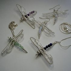 The Dragonfly Collection | JewelryLessons.com