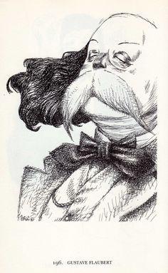 Tullio Pericoli  Gustave Flaubert