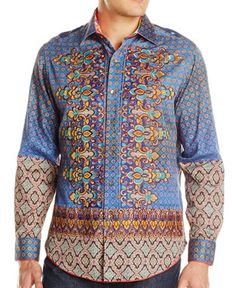 Robert Graham SEA JOURNEY Shirt, Style RS151613, 509 shirts Made, Spring 2015