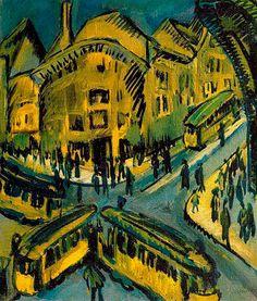 Ernst Ludwig Kichner art
