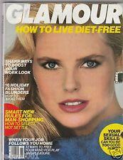 VINTAGE Glamour Magazine  NOVEMBER  1984 CHRISTY BRINKLEY