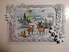 Meine kleine Bastelwelt: Tiere im Winter