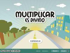 ▷ 45 juegos interactivos para repasar y aprender las tablas de multiplicar Primary Maths, Primary School, Learn Faster, Help Teaching, Love My Job, Math Resources, Math Lessons, First Grade, Game Design