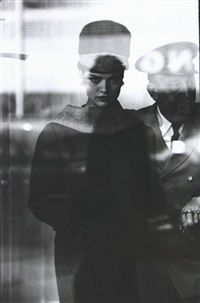 Untitled (fashion) by Saul Leiter