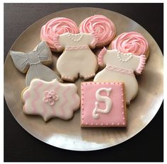 #babyshower #baby #cookie #girl