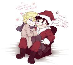 >___________< so cute!!! Kurogane ❤ Fai~