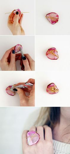 Make a statement ring with this tutorial.