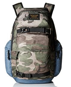 Burton Kilo Backpack School, work or travel, stay on top of your hustle with dedicated laptop storage, a large main compartment, and two secure straps on the front to carry your jacket or skateboard.