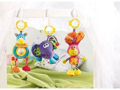 Playtastic Wilma, Tom & Fridolin: Spielzeugtrio für Kleinkinder