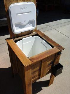 DIY Pallet Cooler Box Plan | 99 Pallets