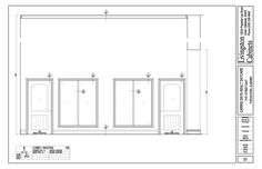 Architectural Millwork Drafting