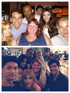 Shadowhunters show's cast + Cassie