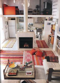 Smaller flat with all the right decor
