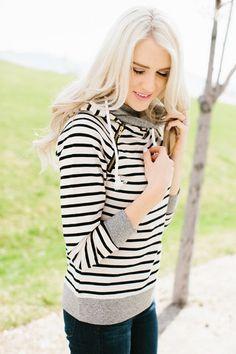 Double Hooded Sweatshirt (PreOrder) – Mindy Mae's Market
