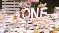 Grab your hat and your elegant mittens too; this stunning Secret Garden Birthday Party at Kara's Party Ideas will make your dreams come true! Garden Party Decorations, Table Decorations, Birthday Ideas, Birthday Parties, Party Themes, Party Ideas, Garden Birthday, Baby Girl First Birthday, Garden Theme