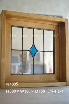 No.4035 【SG-30】380×380×150(パイン色)ガラス変更こんにちは。日曜日に届き、商品を確認しました。とても可愛い仕上がりで家族みんな満足しています。またお家…
