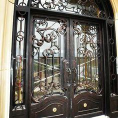 Missouri | Manhattan Iron Door Co. #irondoors #custom #homedesign #wroughtiron