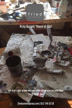 Opening Thu 15 Sep 6-8pm Wine and conversation with artist #ricky_burnett #painting #exhibition #pretoria #events