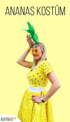 kost m gesucht diese ananas vers t die karnevalstage ganz bestimmt die anleitung gibt es auf. Black Bedroom Furniture Sets. Home Design Ideas